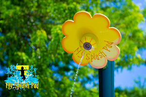 Flower Shower Portable Water Play Feature