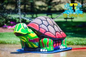 Large Turtle Mobile Spray and Play Features