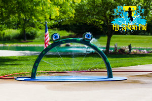 Mini Frog Arch Water Play Features