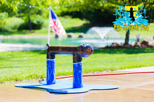 Standing Dog Water Play Features