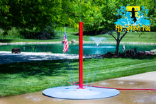 Load image into Gallery viewer, Tall Rain Stick Portable Splash Pad Water Play Feature