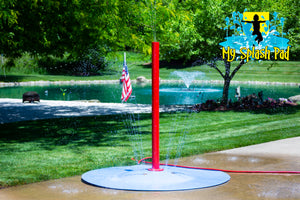 Tall Rain Stick Portable Splash Pad Water Play Feature