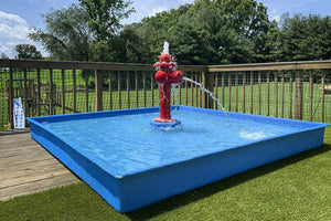 Portable Kid Wading Pool Kit