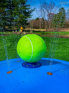 Tennis Ball Water Play Features