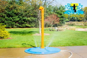 Rain Blaster Portable Splash Pad Water Play Features