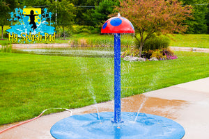Mushroom Portable Splash Pad Water Play Feature