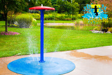 Load image into Gallery viewer, Umbrella Portable Splash Pad Water Play Feature