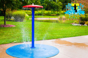 Umbrella Portable Splash Pad Water Play Feature