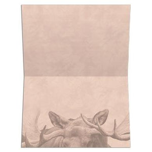 Sunset Moose All Occasion Greeting Card