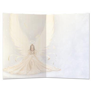 Snow Angel All Occasion Greeting Card 6 pack