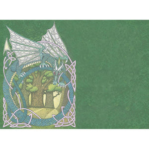 Guardian Of The Secret Grove Greeting Card