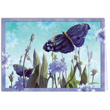 Load image into Gallery viewer, Blue Wing Greeting Card