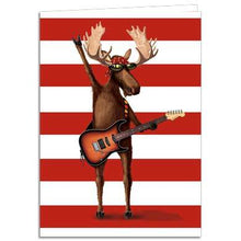 Load image into Gallery viewer, Moose Springsteen Greeting Card