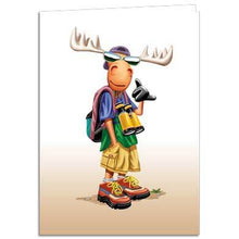 Load image into Gallery viewer, Hang Moose Greeting Card