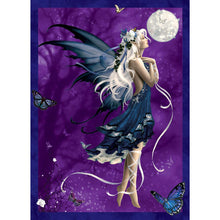 Load image into Gallery viewer, Blue Nocturne Greeting Card