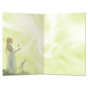Celestial Friends Greeting Card