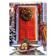 Load image into Gallery viewer, Christmas Gift Holiday Greeting Card 4 pack