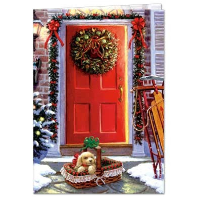 Christmas Gift Holiday Greeting Card 4 pack