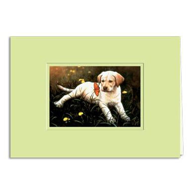 Spring Encounter Greeting Card
