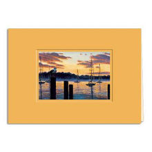 Load image into Gallery viewer, Harbor Watcher Greeting Card