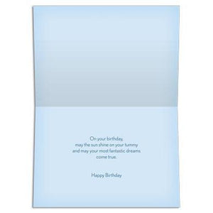Fantastic Dreams Birthday Greeting Card 6 pack