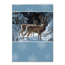 Load image into Gallery viewer, World Of Wonder Holiday Greeting Card 4 pack
