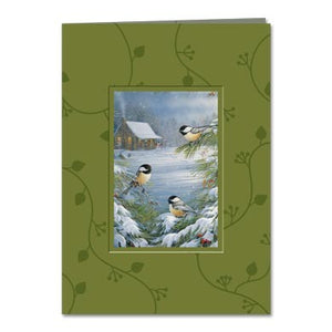 Nature's Gifts Holiday Greeting Card 4 pack
