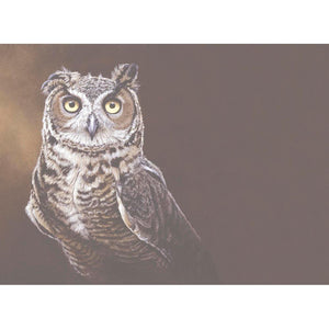 Great Horned Owl All Occasion Greeting Card