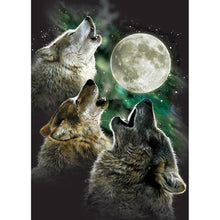 Load image into Gallery viewer, Three Wolf Moon All Occasion Greeting Card 6 pack