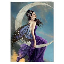 Load image into Gallery viewer, Moon Amethyst Greeting Card