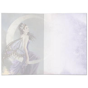 Moon Amethyst Greeting Card