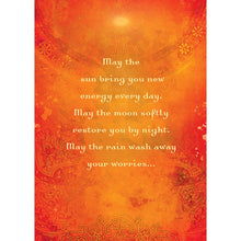 Load image into Gallery viewer, May The Sun Encouragement Greeting Card 6 pack