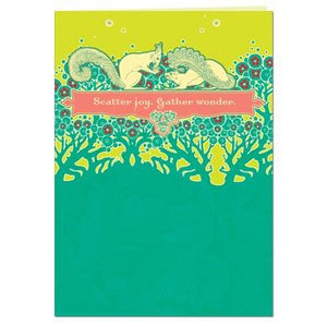 Scatter Joy Greeting Card
