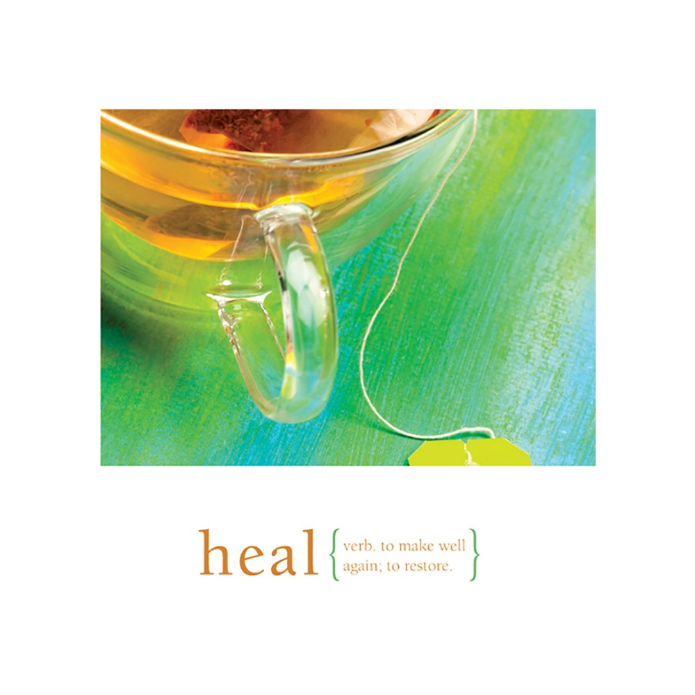 Heal Get Well Greeting Card 6 pack