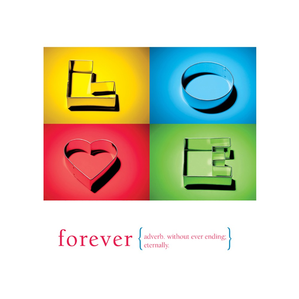 Forever Love Greeting Card 6 pack