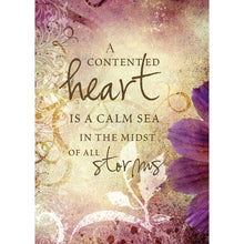 Load image into Gallery viewer, Contented Heart All Occasion Greeting Card 6 pack
