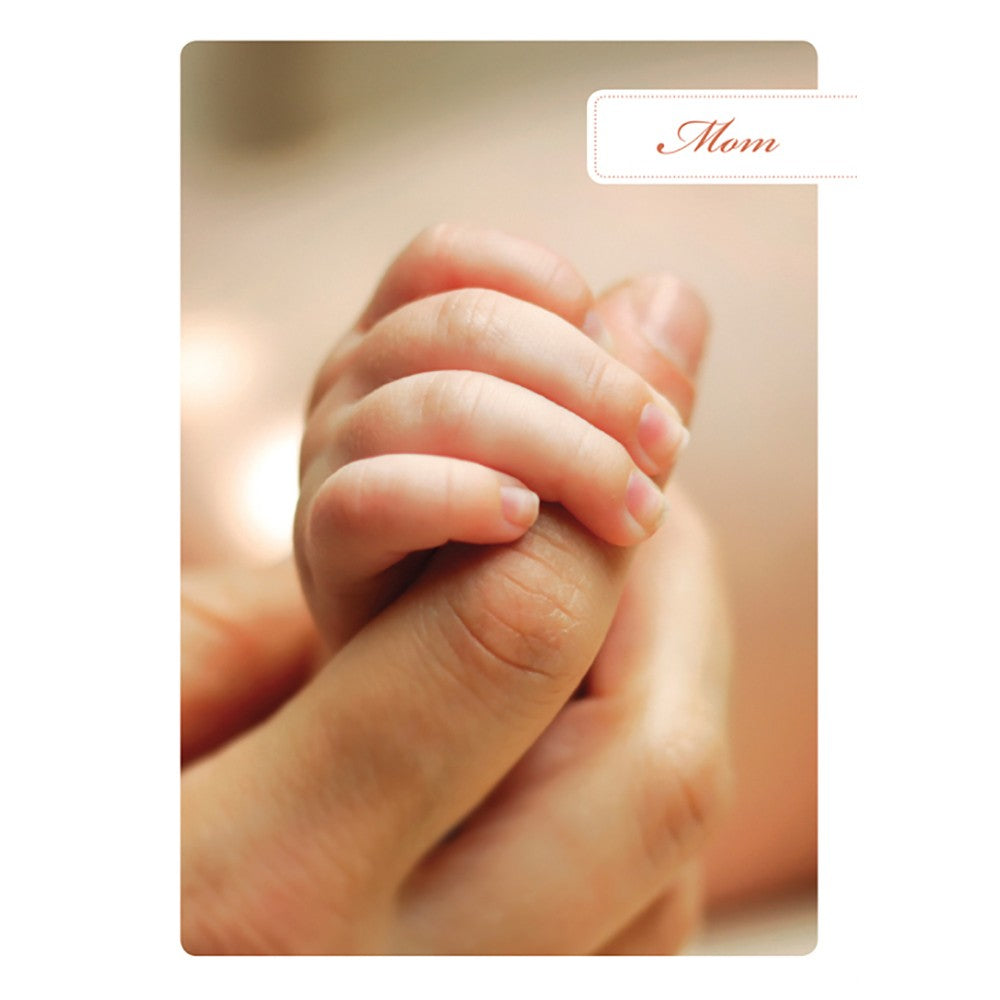 Mother's Hand Mother's Day Greeting Card 4 pack