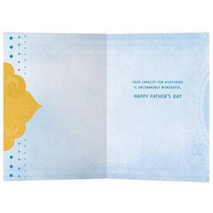 Rare Jewel Father's Day Greeting Card 4 Pack