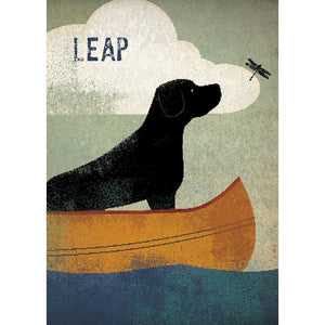 Leap Encouragement Greeting Card 6 pack