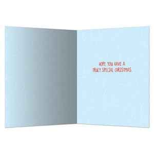 Rosacea Christmas Greeting Card 4 pack