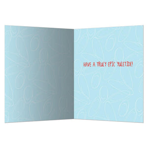 Yuletide Holiday Greeting Card 4 pack