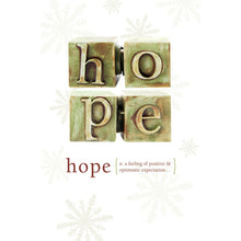Load image into Gallery viewer, Hope Holiday Greeting Card 4 pack