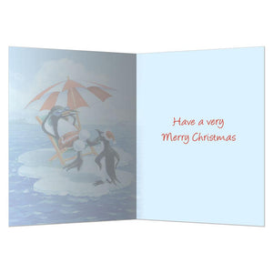 Very Merry Christmas Christmas Greeting Card 4 pack