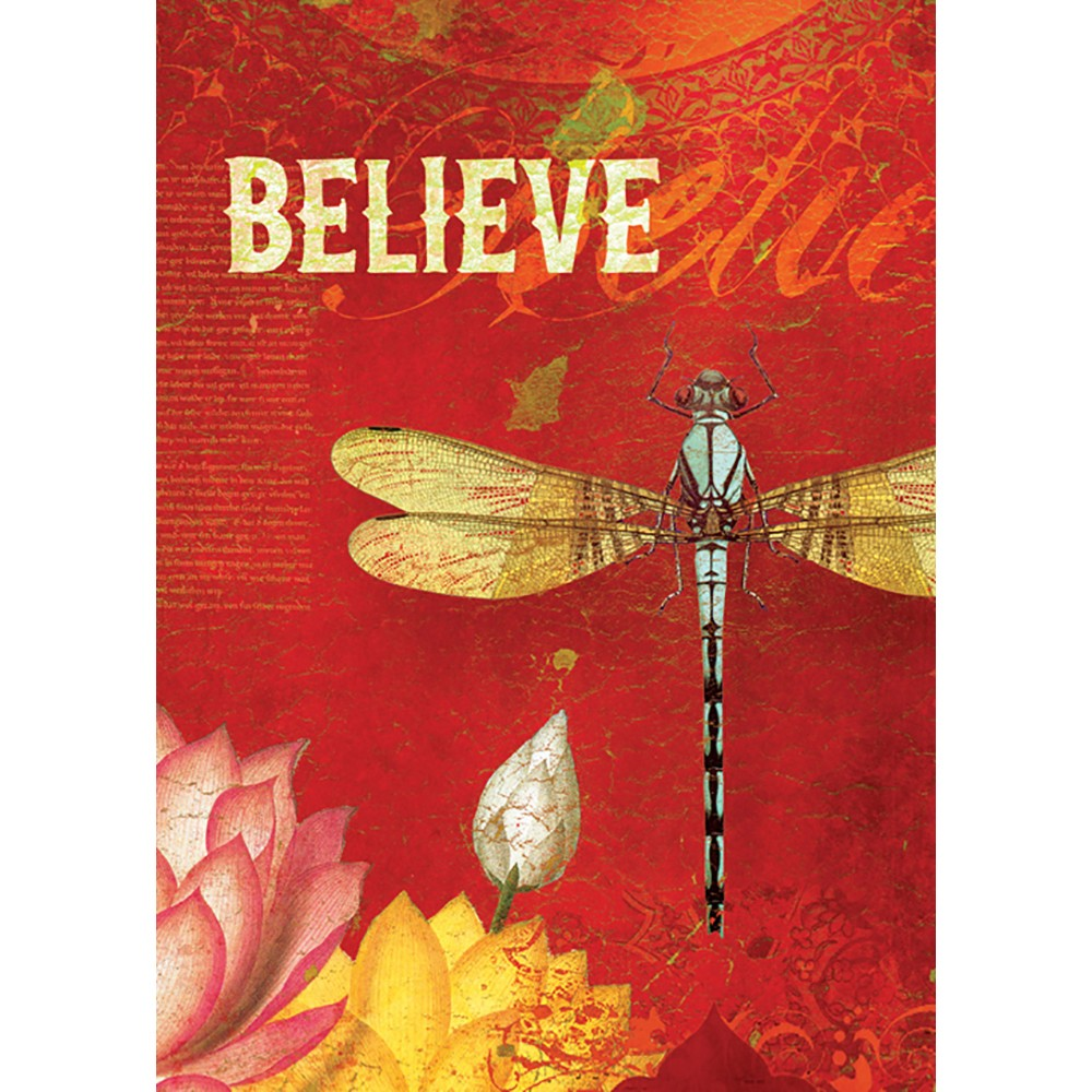 Believe All Occasion Greeting Card 6 pack