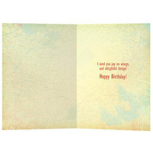 Delight Birthday Greeting Card 6 pack