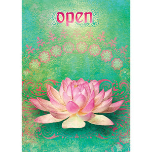 Open Encouragement Greeting Card 6 pack