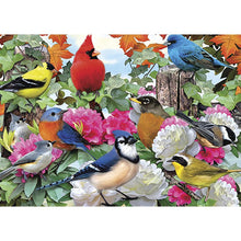 Load image into Gallery viewer, Flock Of Happiness Birthday Greeting Card 6 pack