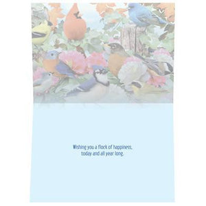 Flock Of Happiness Birthday Greeting Card 6 pack