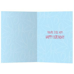 Hot Flashdance Birthday Greeting Card 6 pack