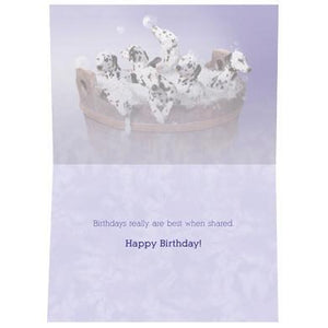 Buckets Of Fun Birthday Greeting Card 6 pack